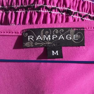 Rampage Tops - Purple Rampage Top